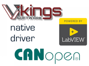 Vikings Software GmbH LabVIEW CANopen driver package